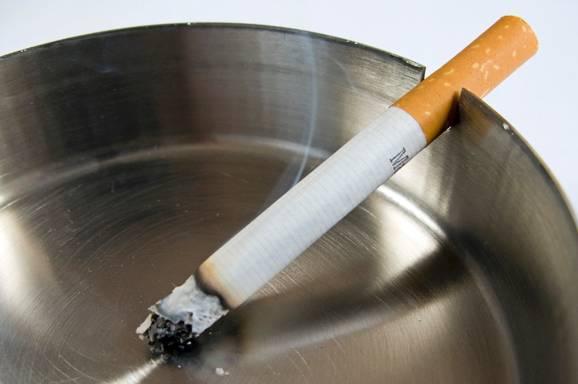 sigaret en asbal